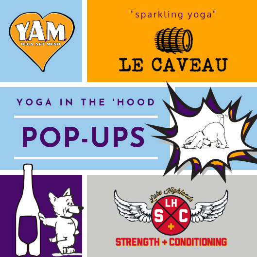 YAM Pop Up Events