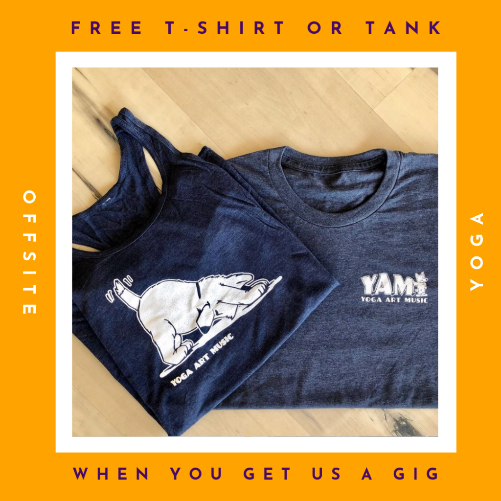 Offsite Yoga - Free Tshirt offer